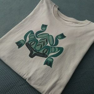 Vintage Pacific Northwest Native Frog T Shirt